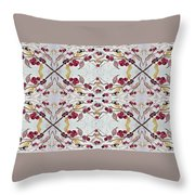 Cherries Still On The Branch Throw Pillow