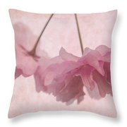Cherry Blossom Froth Throw Pillow