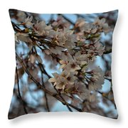 Cherry Blossom Throw Pillow