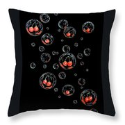 Cherry-bubs Throw Pillow