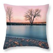 Cherry Creek First Light Throw Pillow
