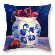 Cherry Delights Throw Pillow