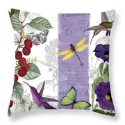 Cherry Picked I Throw Pillow