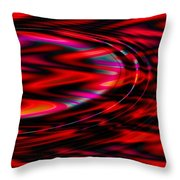 Cherry Red- Throw Pillow
