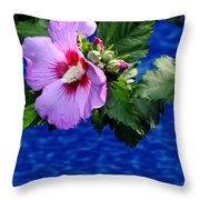 Cherry Throat Throw Pillow