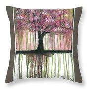 Fruit Tree #3 Throw Pillow