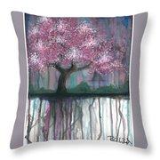 Fruit Tree #4 Throw Pillow