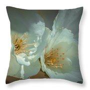Cherryblossom Flowers Throw Pillow