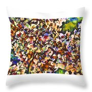 Cherryvangogh Throw Pillow