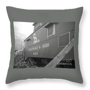 Chesapeake And Ohio Throw Pillow