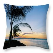 Chesapeake Sunset - Full Color Throw Pillow