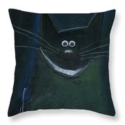 Cheshire Cheese Throw Pillow