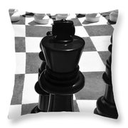 Chess Pano Throw Pillow