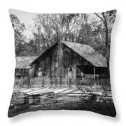 Chesser Island Homestead Throw Pillow