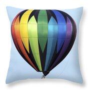 Chester County Balloon Fest 31 Throw Pillow