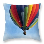Chester County Balloon Fest 61 Throw Pillow