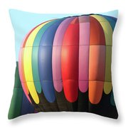 Chester County Balloon Fest 8765 Throw Pillow