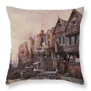 Chester Throw Pillow by Louise J Rayner