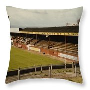 Chester - Sealand Road - Main Stand 1 - 1969 Throw Pillow