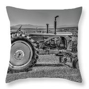 Chesterfield Tractor Throw Pillow