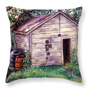 Chester's Treasures Throw Pillow