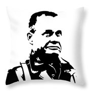 Chesty Puller Throw Pillow