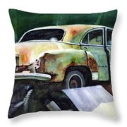 Chev At Rest Throw Pillow