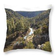 Chevelon Canyon Throw Pillow