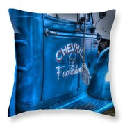 Chevhill Fabrications Throw Pillow by Ian  Ramsay