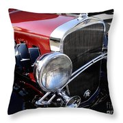Chevrolet 1932 Deluxe Coupe Throw Pillow