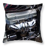 Chevrolet 400 Hp  Throw Pillow