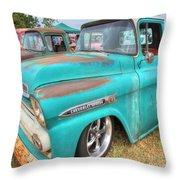 Chevrolet Apache Throw Pillow