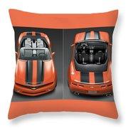 Chevrolet Camaro Convertible Concept 5  Throw Pillow