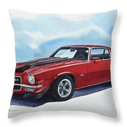 Chevrolet Camaro Z28 Throw Pillow