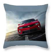 Chevrolet Camaro Zl1 2012 Throw Pillow