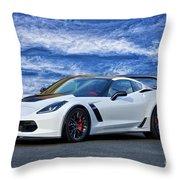 Chevrolet Corvette Z06 II Throw Pillow