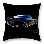 Chevrolet Corvette Z06 Throw Pillow