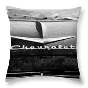 Chevrolet Hood 1 Throw Pillow