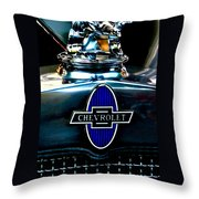 Chevrolet Hoodie Throw Pillow