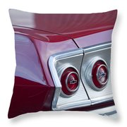 Chevrolet Impala Ss Taillight 2 Throw Pillow