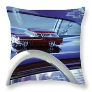Chevrolet Nomad Toy Car Throw Pillow