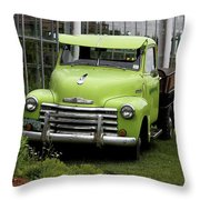 Chevrolet Old Throw Pillow