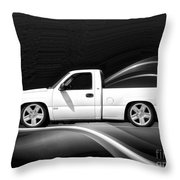 Chevrolet Super Sport Pickup Throw Pillow