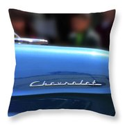 Chevy Blues Throw Pillow