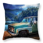 Chevy Bonanza Throw Pillow