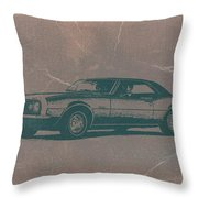 Chevy Camaro Throw Pillow by Naxart Studio