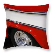 Chevy Cameo 1957 Throw Pillow