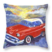 Chevy Dreams Throw Pillow