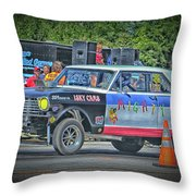 Chevy Nova Ss 359 Ci Throw Pillow