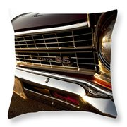 Chevy Nova Ss Throw Pillow